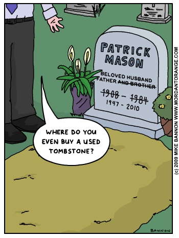 Here Lies The World's Cheapest Man